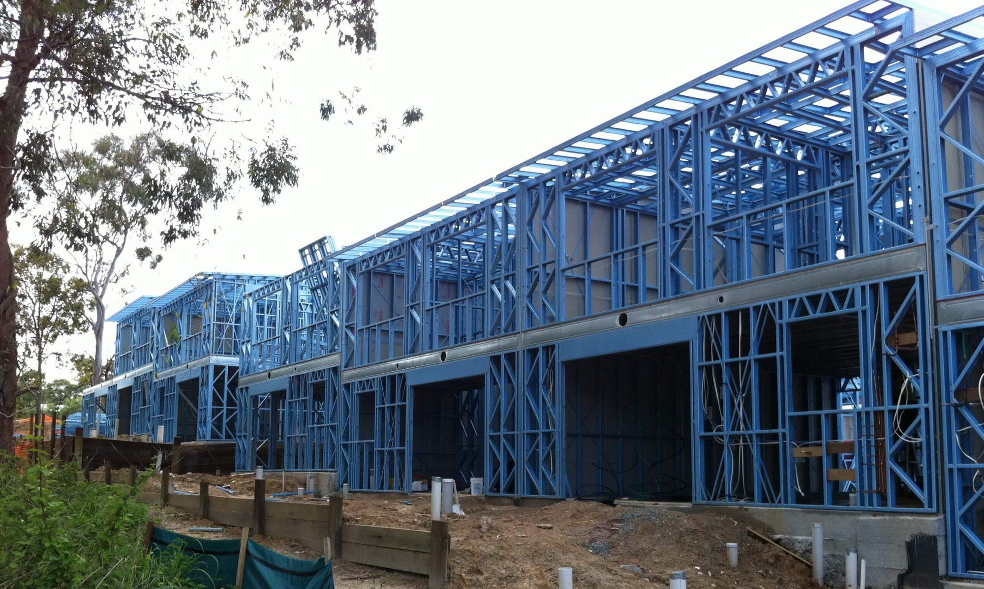 Bribuild News Steel Frame homes