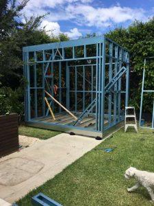 Steel Frame Garden Studios