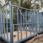 Steel Frame Dual Backyard Pods