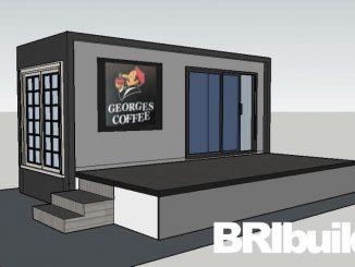 Container Coffee Shop desighned by Bribuild