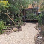 landscape garden with Backyard Pods by BRIbuild