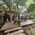 dual backyard pods melbourne australia by BRIbuild