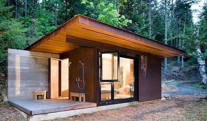 steel frame kit cabins