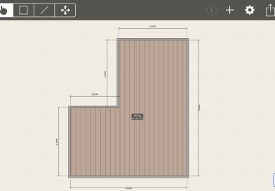 Mud map example of floor plan