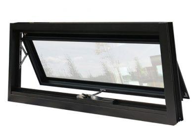 Double glazed aluminum awning windows