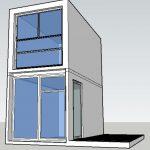 Boxhouse concept mini townhouse studio - Bribuild