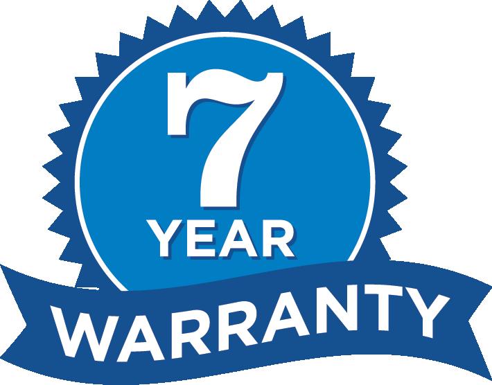 7 year component warranty Bribuild Granny Flats