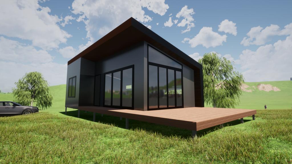 Bendigo Victoria steel frame Kit Homes